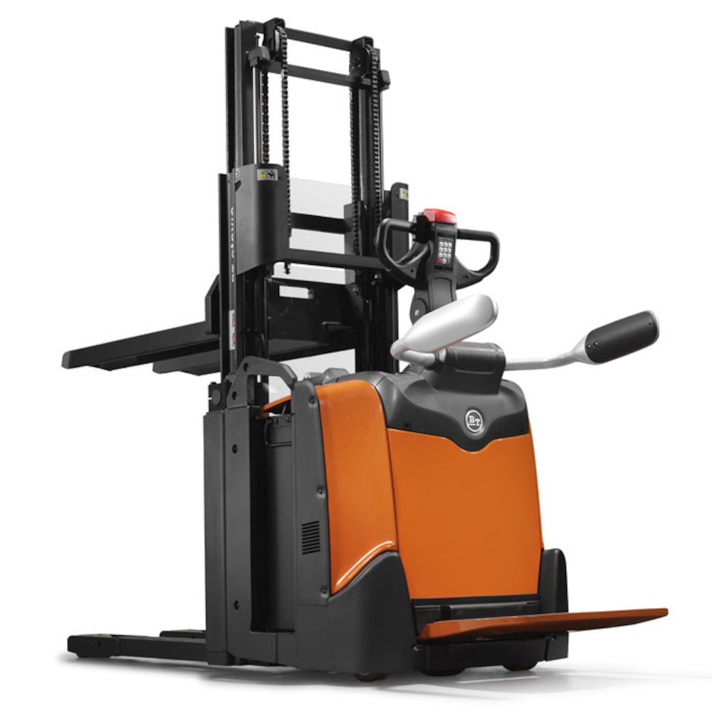 BT Staxio 2t Stacker with Platform and Double stacking - Toyota Material  Handling